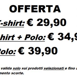 promozione t-shirt e polo